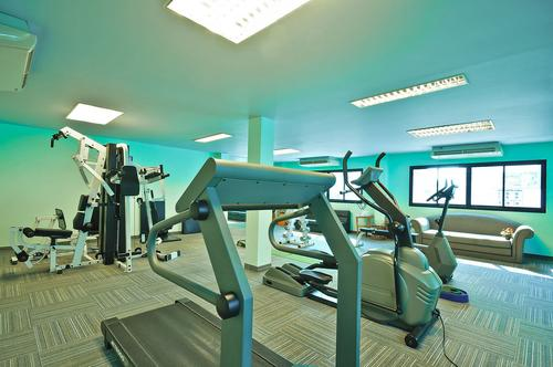 Fully equipped fitness and gym