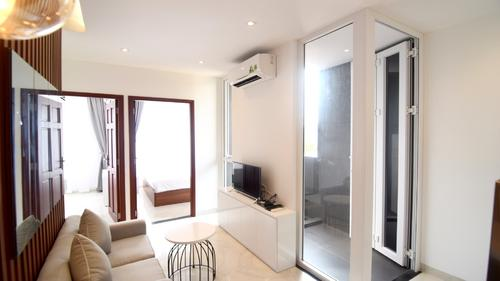 Hoang Linh Apartments offers a spacious living area