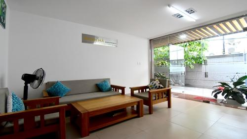 Reception area at Minh Ha Apartments