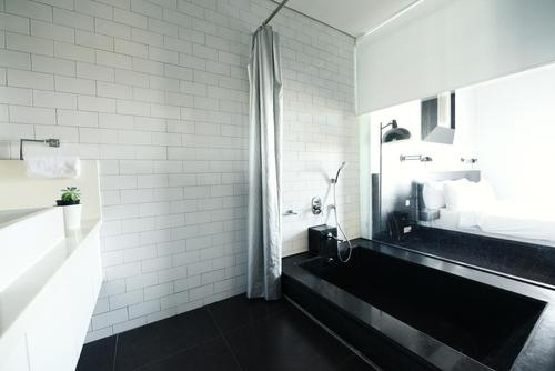 Stunning and clean bathroom