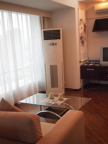 Livingroom with air purifier