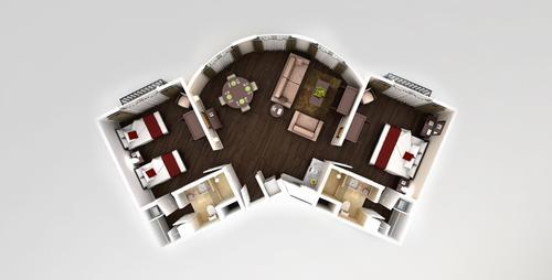 Master apartment floorplan
