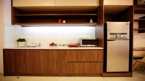 European inspired designer kitchen