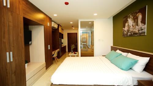 Front Unit One Bedroom apartment at 59 Vo Van Tan