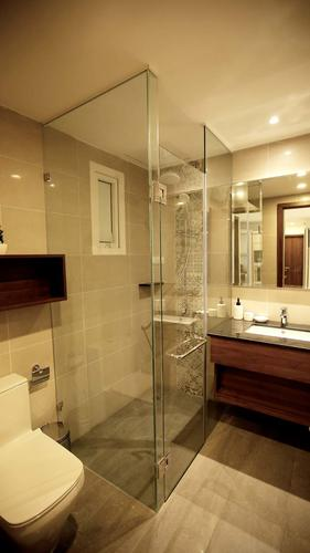 Bathroom in the vip apartment